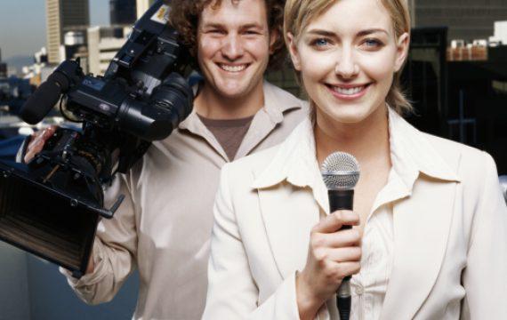 Reportera de televisión